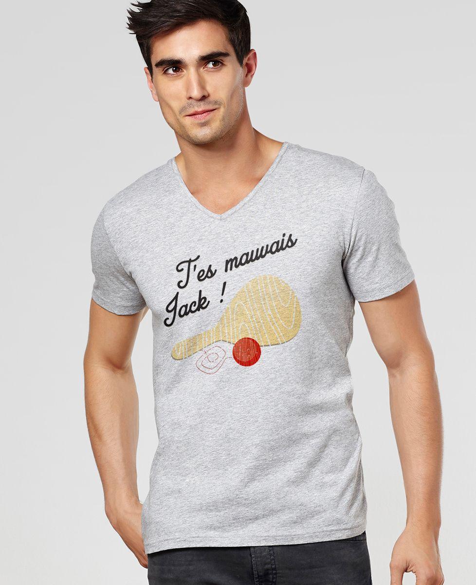 T-Shirt homme T'es mauvais Jack