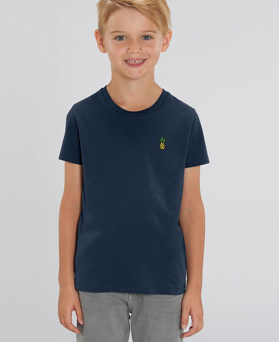T-Shirt enfant Ananas (brodé)