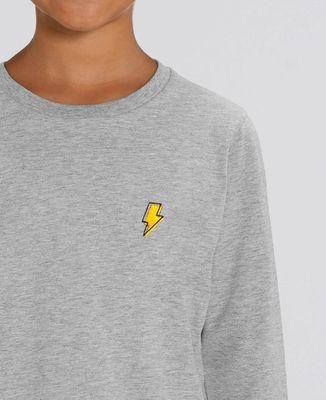T-Shirt enfant manches longues Eclair (Brodé)