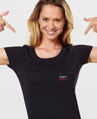 T-Shirt femme Bonjour Dickheads (brodé)