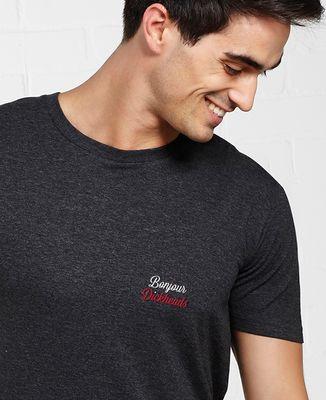 T-Shirt homme Bonjour Dickheads (brodé)