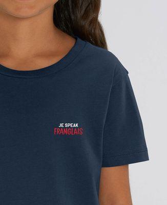 T-Shirt enfant Je speak Franglais (brodé)