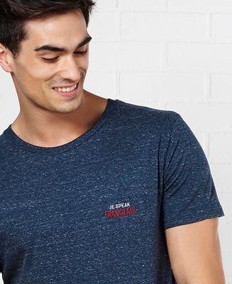 T-Shirt homme Je speak Franglais (brodé)
