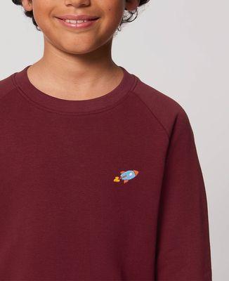 Sweatshirt enfant Fusée (brodé)