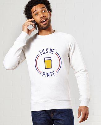 Sweatshirt homme Fils de pinte