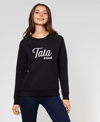 Sweatshirt femme Tata cool