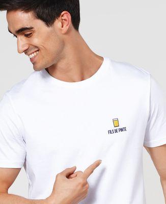 T-Shirt homme Fils de pinte (brodé)