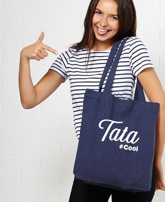 Tote bag Tata cool