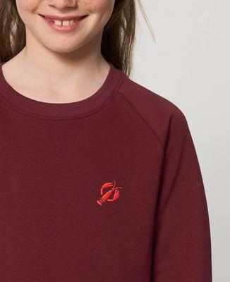 Sweatshirt enfant Homard (brodé)