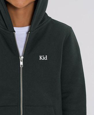 Hoodie zippé enfant Kid (brodé)