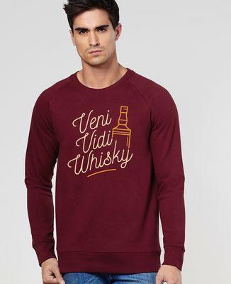 Sweatshirt homme Veni Vedi Whisky