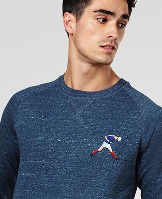 Sweatshirt homme Écusson Zizou (écusson)