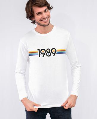 T-Shirt homme manches longues Année personnalisée