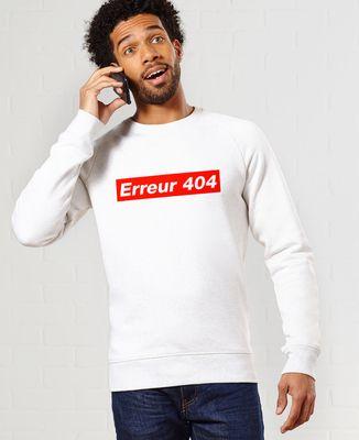 Sweatshirt homme Erreur 404