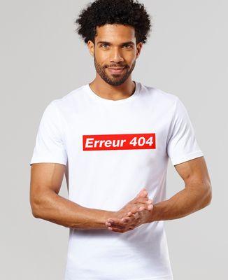 T-Shirt homme Erreur 404
