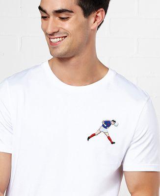 T-Shirt homme Écusson Zizou