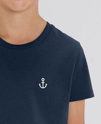 T-Shirt enfant Petite Ancre (brodé)