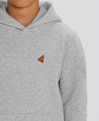 Hoodie enfant Pizza (brodé)