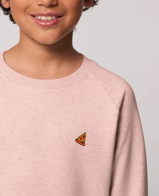 Sweatshirt enfant Pizza (brodé)