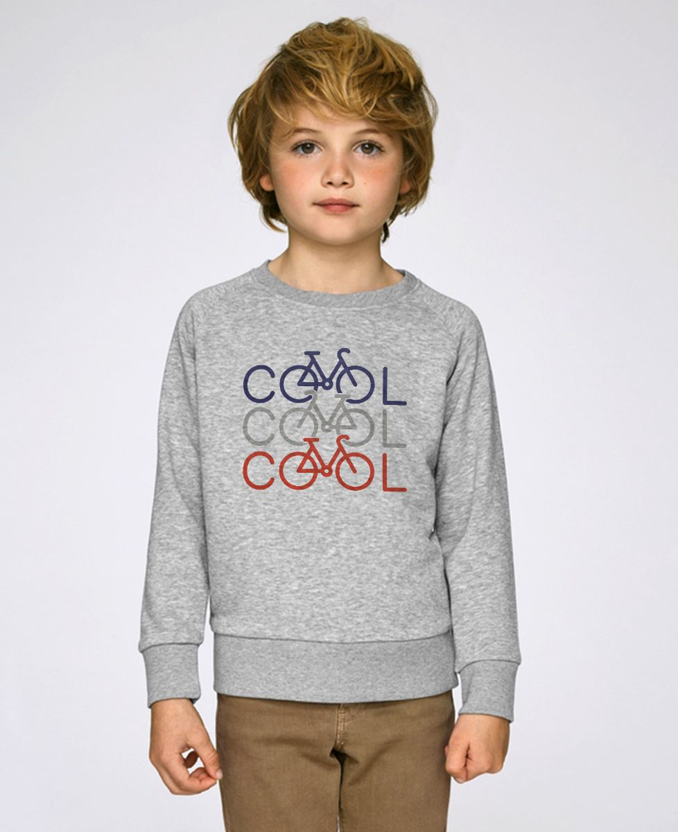 Sweatshirt enfant COOL COOL COOL