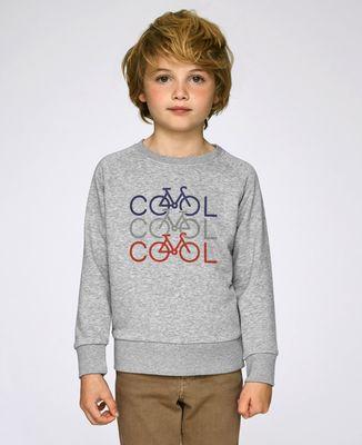 Sweatshirt enfant COOL COOL COOL