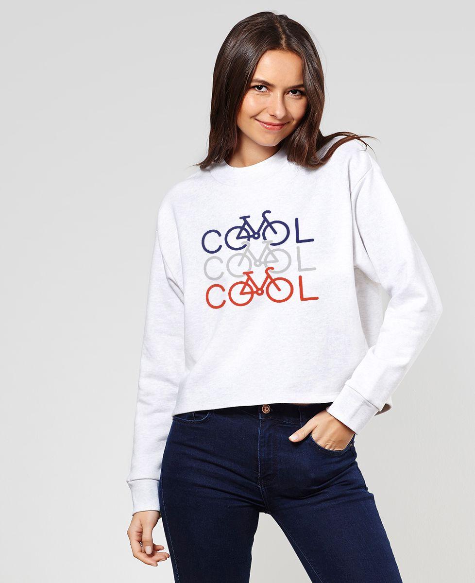 Sweatshirt femme COOL COOL COOL