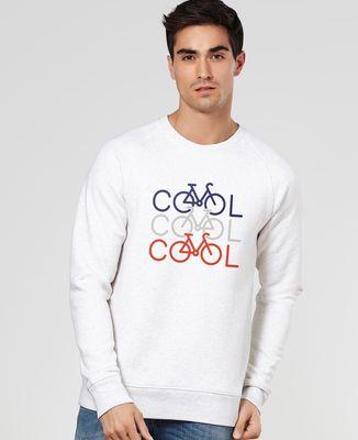 Sweatshirt homme COOL COOL COOL