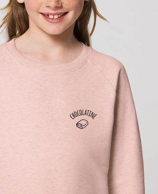 Sweatshirt enfant Chocolatine brodé