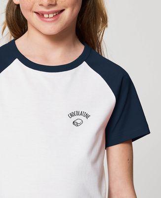 T-Shirt enfant Chocolatine brodé