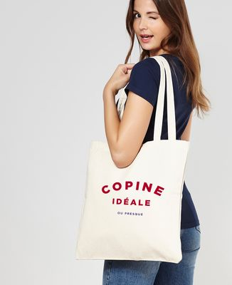Tote bag Copine Idéale