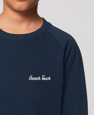 Sweatshirt enfant French Touch brodé