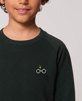 Sweatshirt enfant Lunettes Harry (brodé)