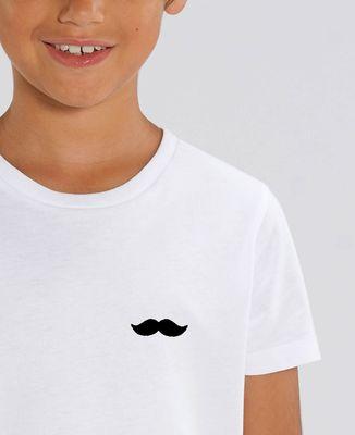 T-Shirt enfant Moustache (broderie)