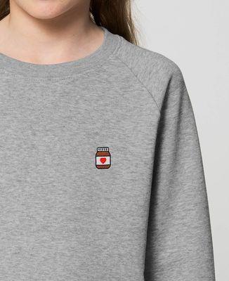 Sweatshirt enfant Nutelove (brodé)