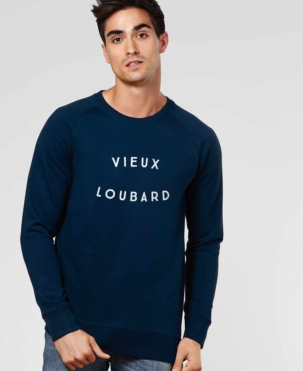 Sweatshirt homme Vieux Loubard