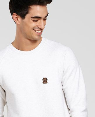 Sweatshirt homme Loutre (brodé)