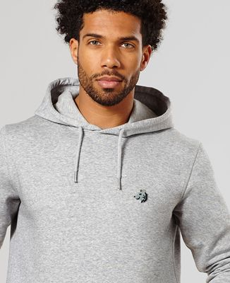 Hoodie homme Loup (brodé)