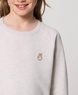 Sweatshirt enfant Peace (brodé)