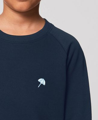 Sweatshirt enfant Petit parasol (brodé)