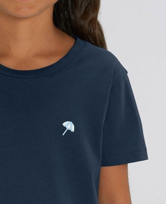 T-Shirt enfant Petit parasol (brodé)