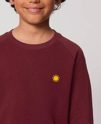 Sweatshirt enfant Petit soleil (brodé)