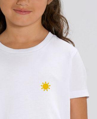 T-Shirt enfant Petit soleil (brodé)