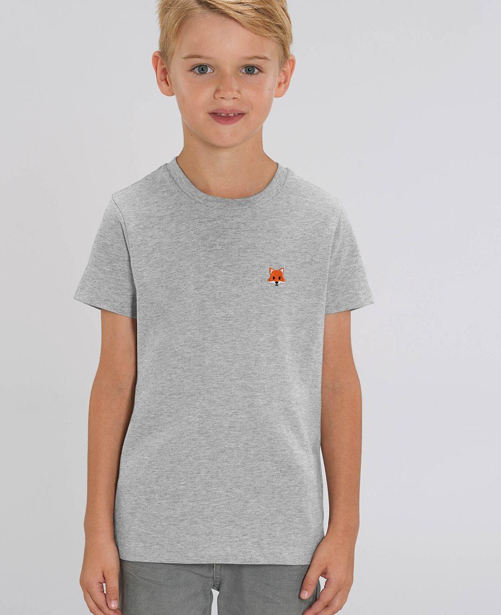 T-Shirt enfant Renard (brodé)