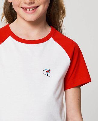 T-Shirt enfant Skieur (brodé)