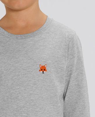 T-Shirt enfant manches longues Renard (brodé)