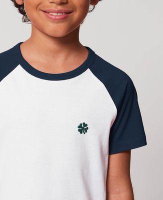 T-Shirt enfant Trèfle (brodé)
