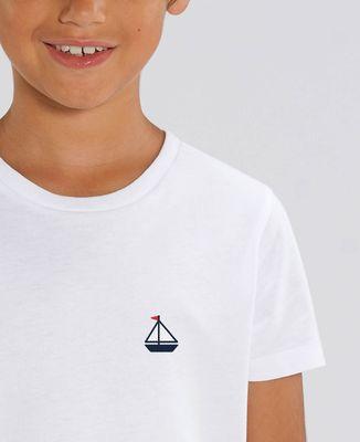 T-Shirt enfant Voilier (brodé)