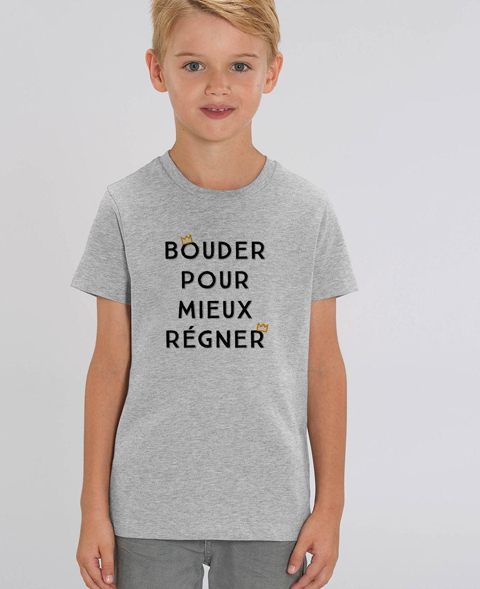 T-Shirt enfant Bouder pour mieux régner