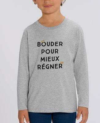 T-Shirt enfant manches longues Bouder pour mieux régner