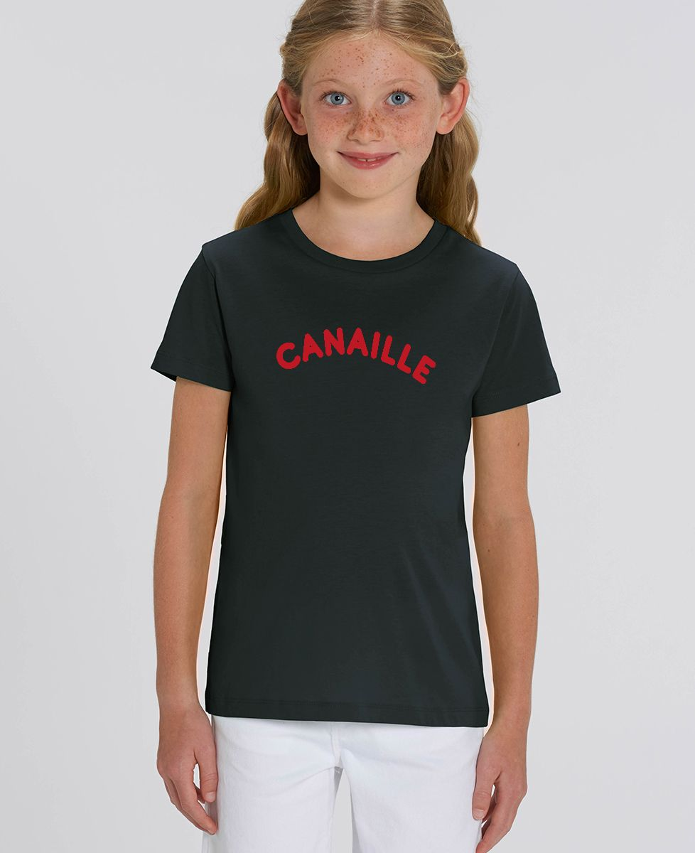 T-Shirt enfant Canaille